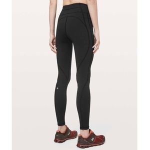 """Lululemon Time To Sweat Tight 28"""" High Rise"""